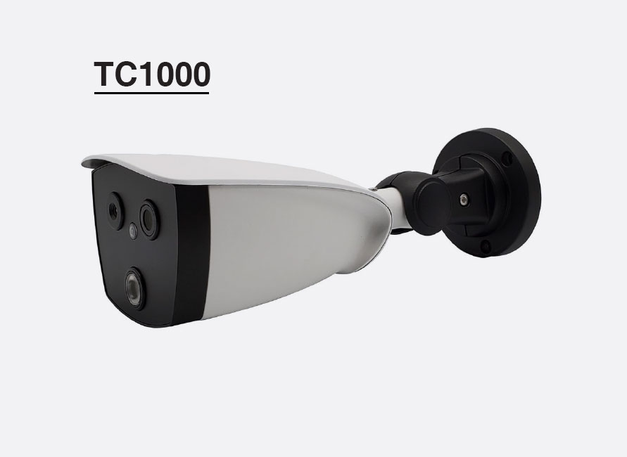 thermal camera face body temperature detection face snapping