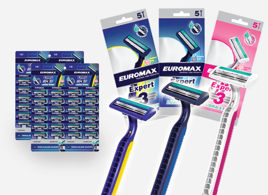 expert 3 lubra strip disposable razors dubai uae